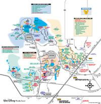 Walt Disney World Resort Maps | Disney | Pinterest