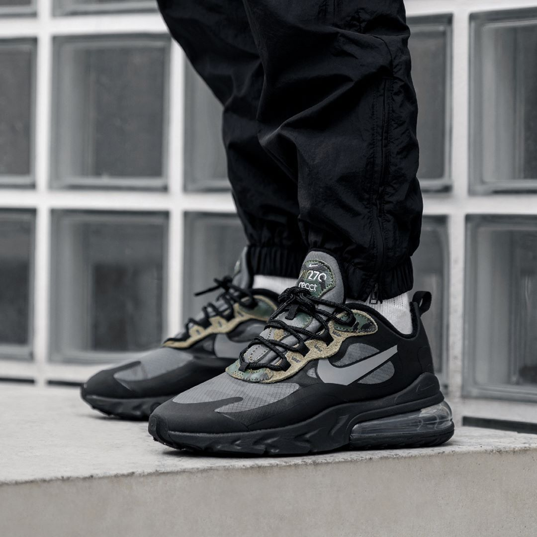 Nike Air Max 270 React in schwarz CT5528 001 | everysize