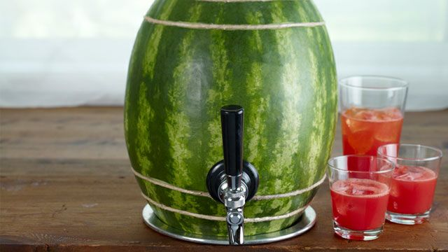 Turn a Watermelon into a Keg!