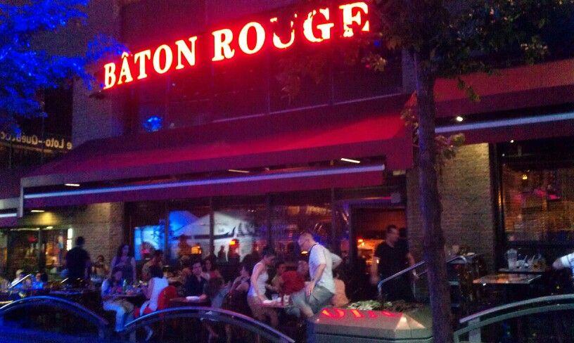 Baton rouge restaurant on st catharine st montreal canada