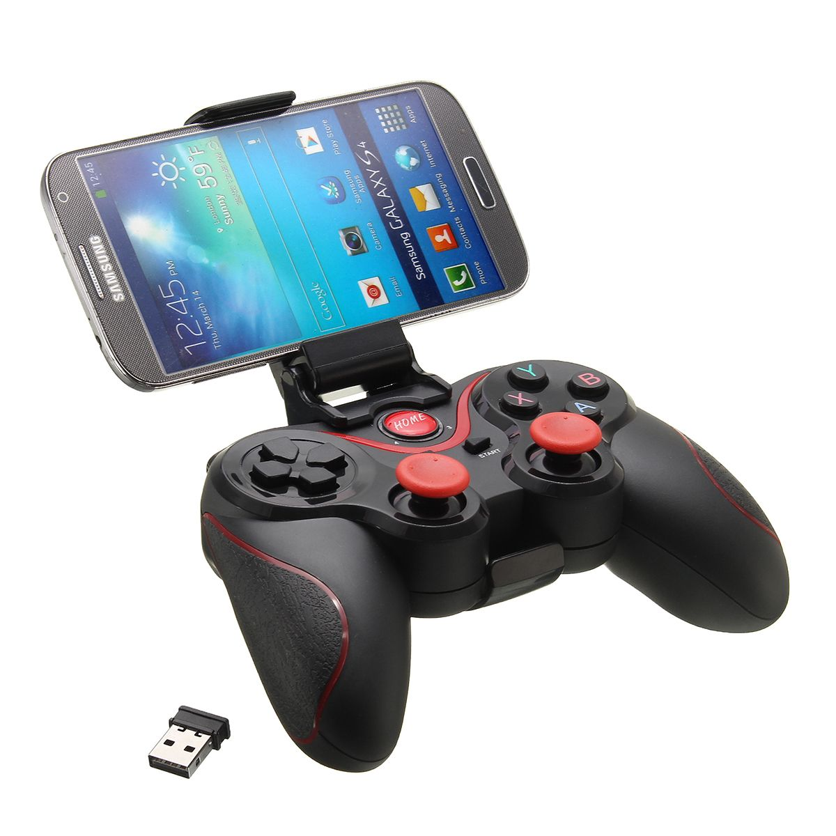 C8 Wireless Bluetooth 3 0 Game Pad Gaming Controller Holder Receiver For Android Smart Phone Tablet Mobile Phone Accessories From Phones Telecommunications On Game Controller Wireless Bluetooth Games