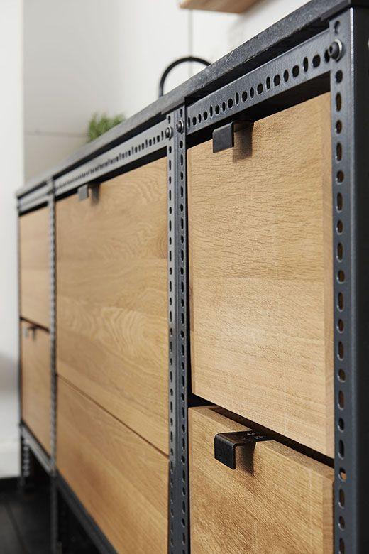frama studio kitchen case no 3 aus winkelprofilen selber bauen winkelprofile lackierbar. Black Bedroom Furniture Sets. Home Design Ideas