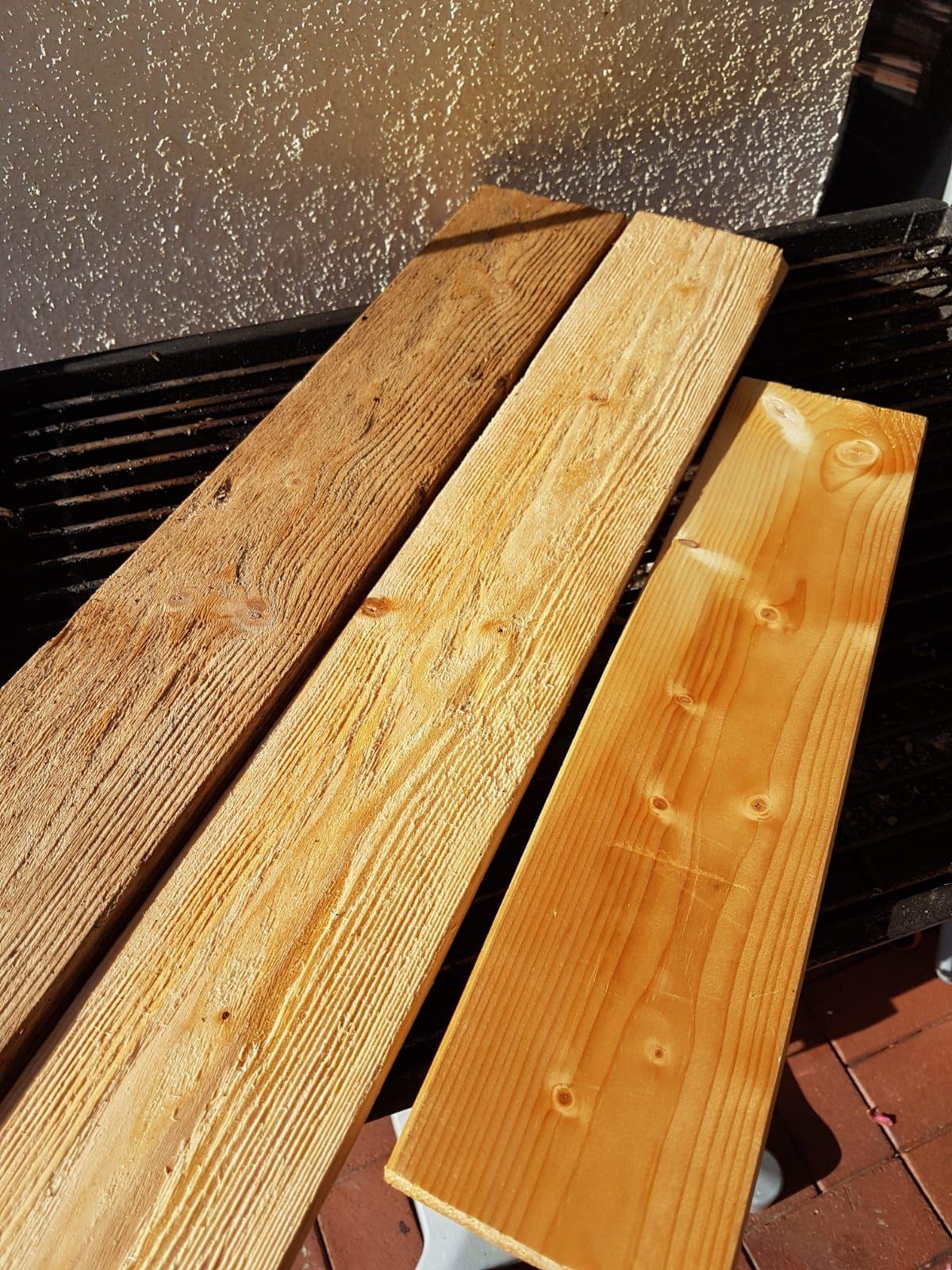 Beize Einfach Selber Herstellen Verwittertes Holz Diy Into The Woods Altholz