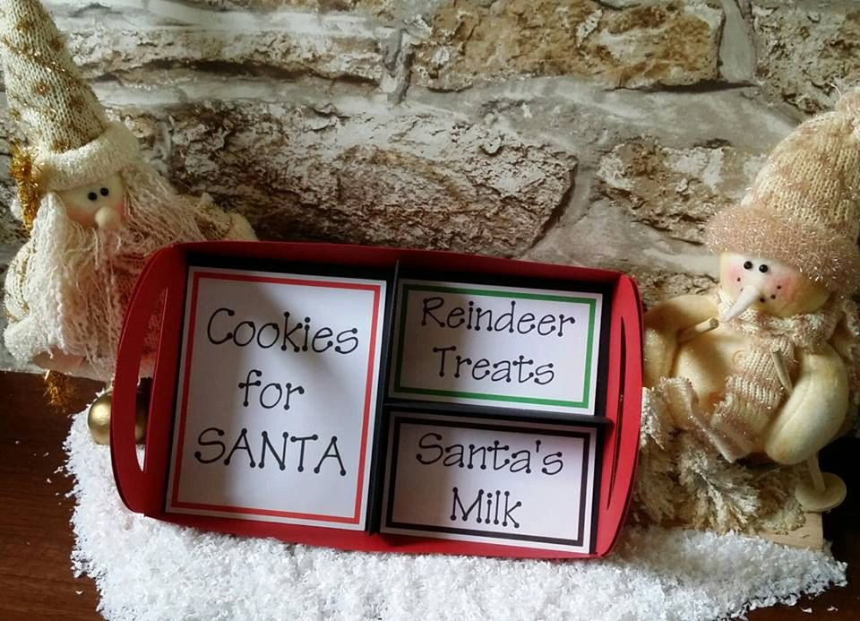Santa's Compartment Tray.........SVG and MTC