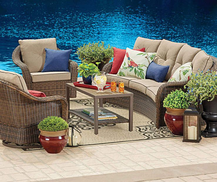 I found a Wilson & Fisher Palmero Patio Furniture Collection at Big Lots  for less. - I Found A Wilson & Fisher Palmero Patio Furniture Collection At