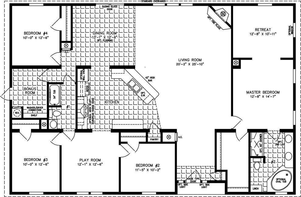 Floor Plans Manufactured Homes Modular Homes Mobile Homes
