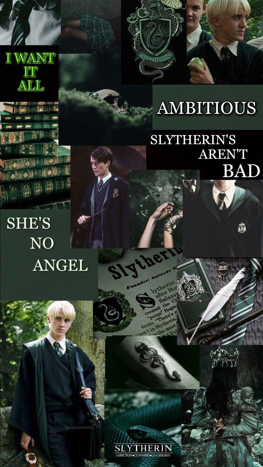 Wallpaper Slytherin Aesthetic Slytherin Slytherin Wallpaper Harry Potter Draco Malfoy