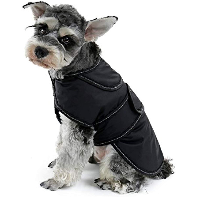 PAWZ Road Dog Coat With Detachable Fleece Lining, Winter