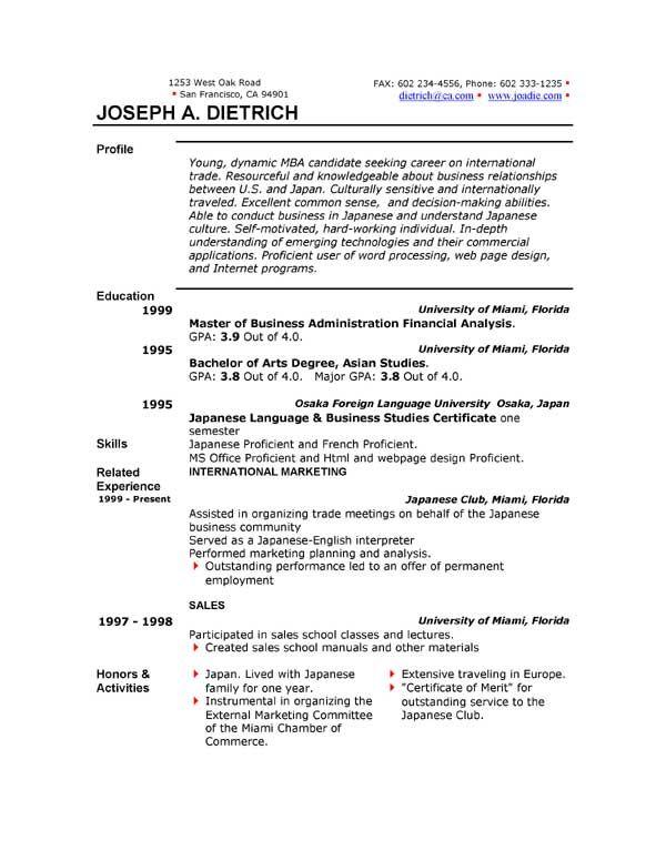 Writing A Resume In Microsoft Word Free Resume Templates Cv Kreatif Desain Cv Kreatif