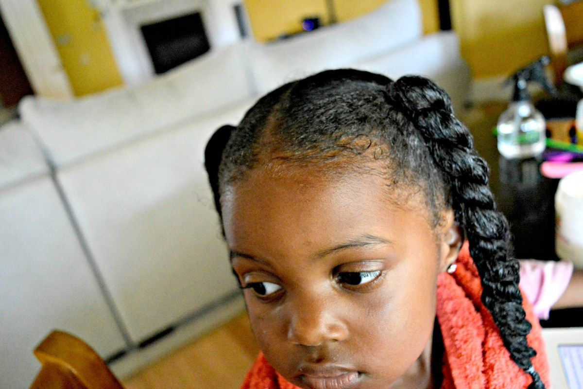 The homemade lotion that healed my daughters eczema natural hair
