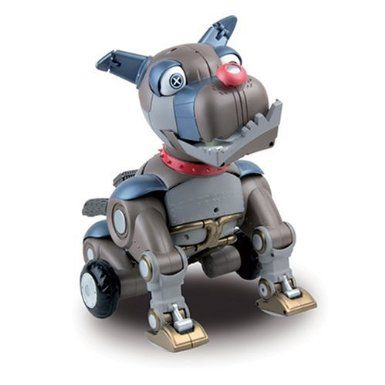 Amazon Com Wowwee Wrex The Dawg Robotic Dog Toys Games Robot