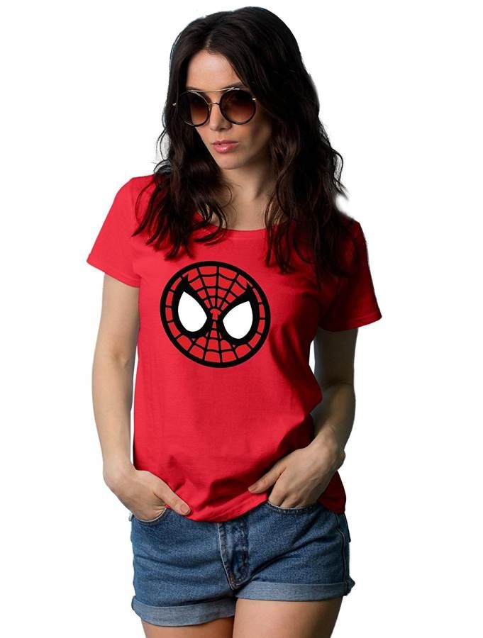 2d508ac3 Spiderman Homecoming T Shirt For Womens | Iron Spider - Avengers Infinity  War | Camisetas con logo, Superhéroes, Camisetas