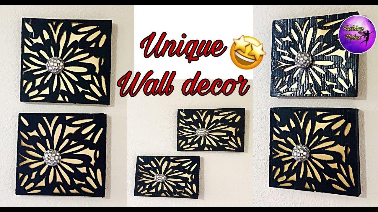 Unique Wall Hanging Craft Diy Wall Decor Home Decoration Idea