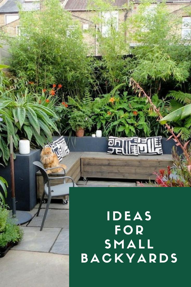 Ideas for small backyards backyard garden backyard garden ideas