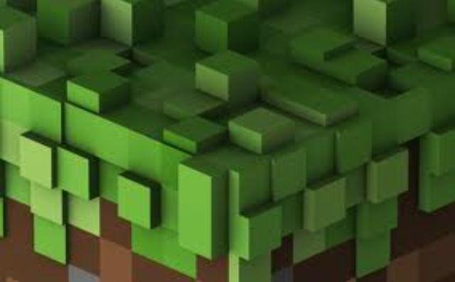 3d Minecraft Dirt Block