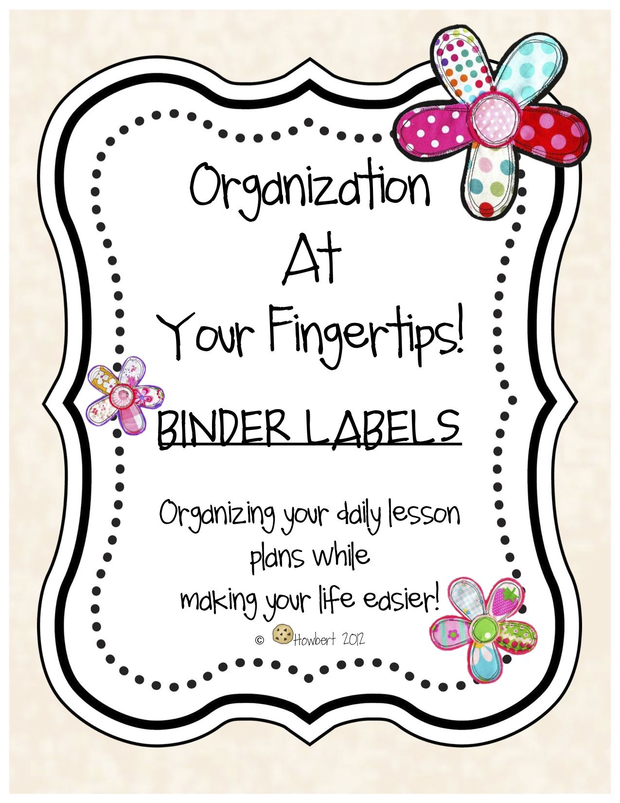 Organizing Lesson Plans At Your Fingertips