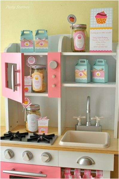 Kids Kitchen Cocina Ninos Cocinita Pastel Colors Cocinas De