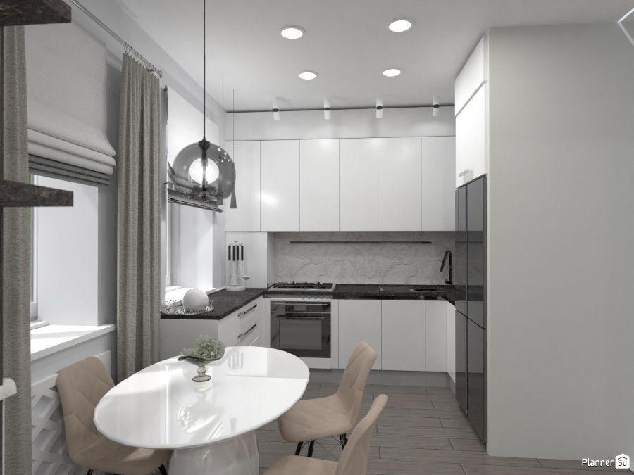 grey kitchen interior ideas planner 5d interior design tools home planner home design software on kitchen remodel planner id=30479