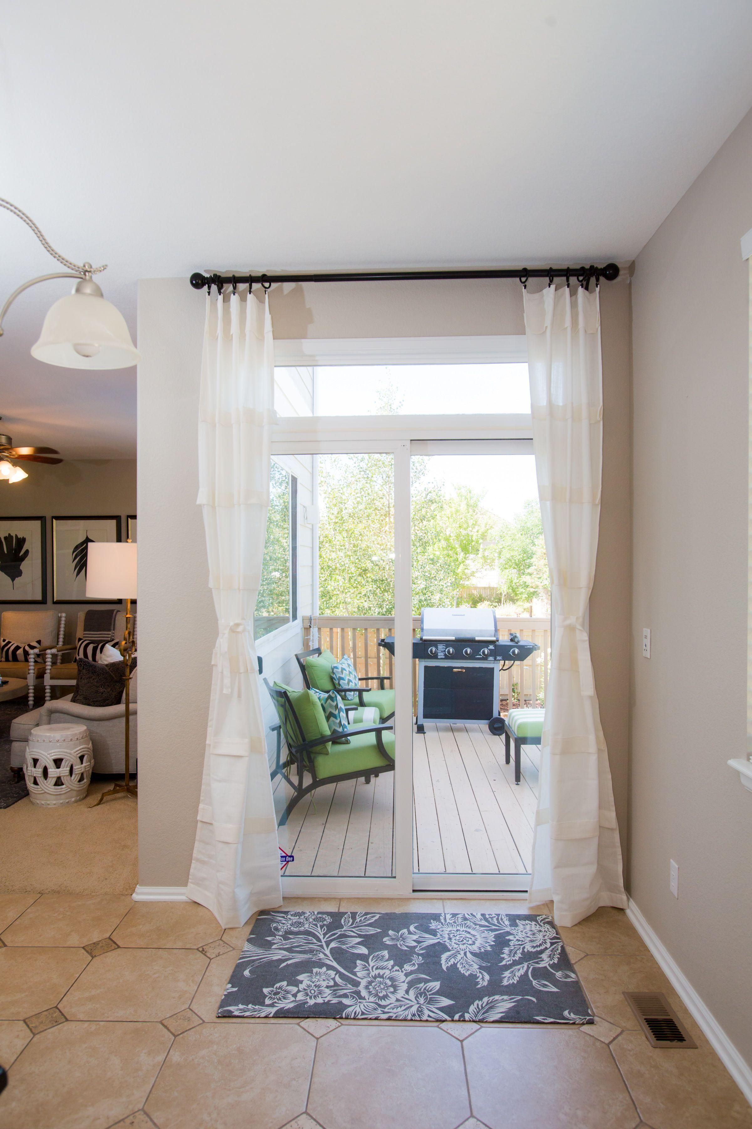 Dani Designs Co Sliding Glass Door Sliding Glass Door Curtains