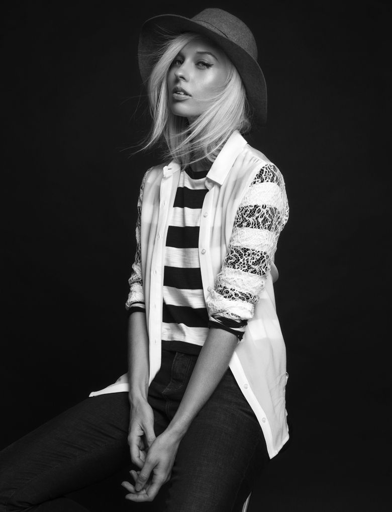 Witchery: The White Shirt Campaign 2014