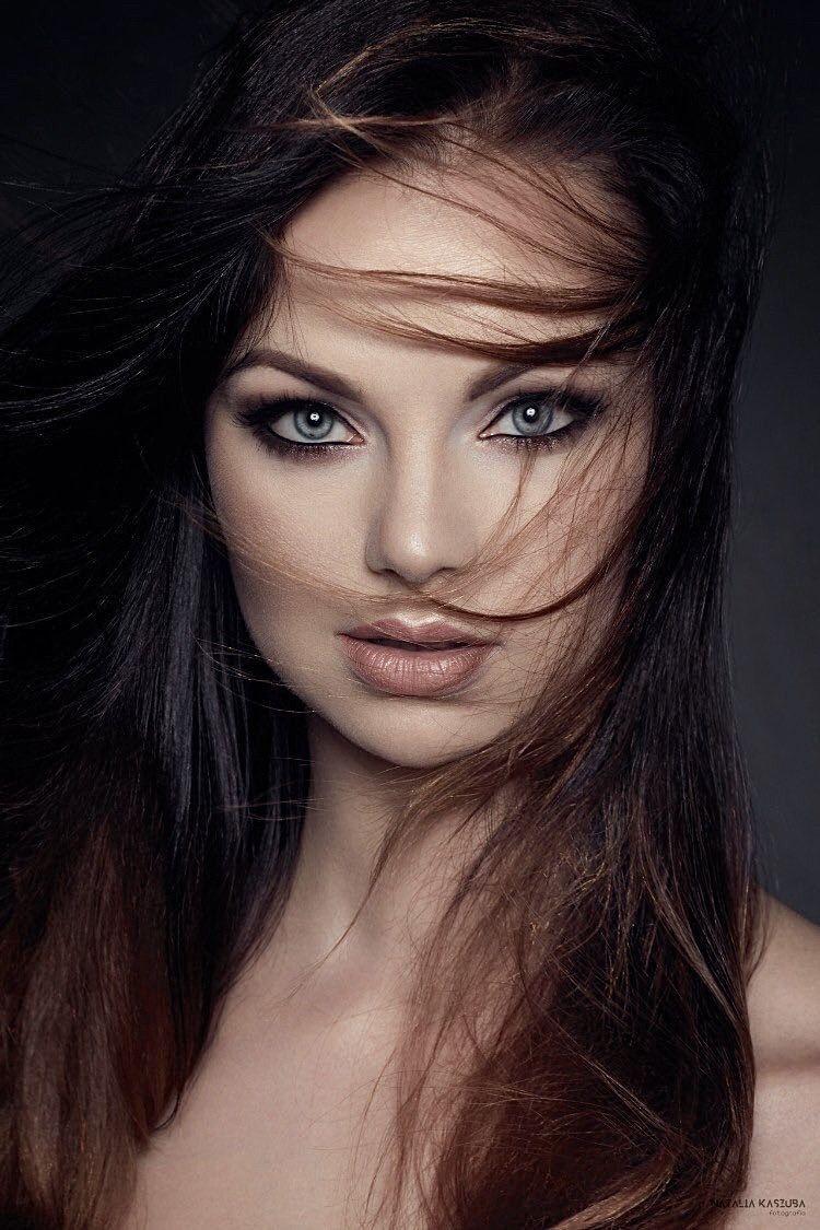 DP met een prachtige brunette