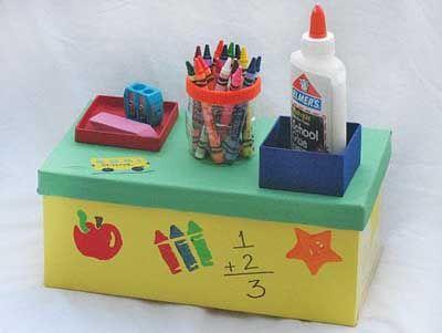 25 Fotos E Ideas Para Decorar Y Reciclar Cajas De Carton Reciclar Cajas De Carton Caja De Zapatos Decorada Caja De Zapatos