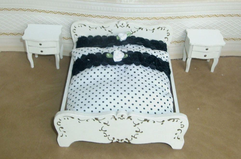Etagenbett Puppenstube : Puppenstube puppenmöbel lundby bett doppelbett nachtschrank