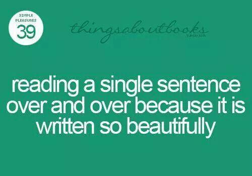 A Single Sentence