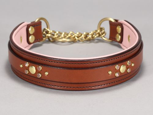 california collar co leather dog collars leashes u0026 accessories chain martingale