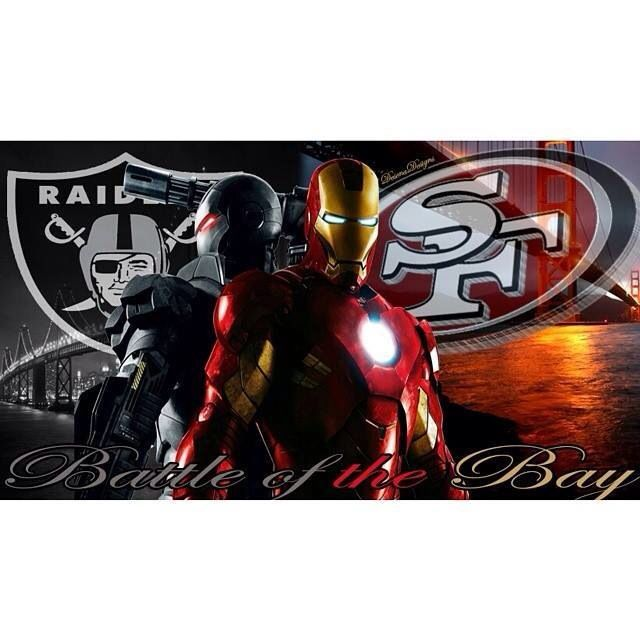 Battle Of The Bay Oakland Raiders Vs San Francisco 49ers