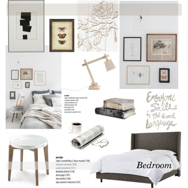 bedroom by helenevlacho on polyvore featuring interior interiors interior design home home