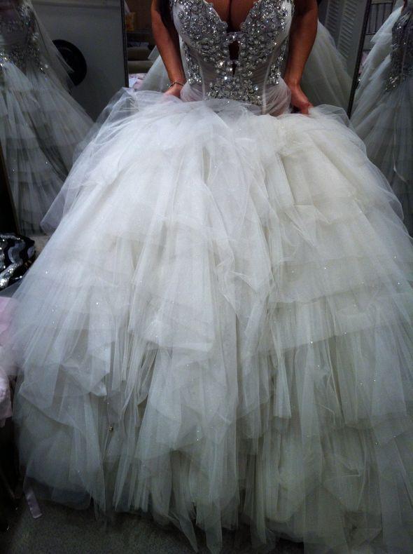 What to do....Pnina Tornai : wedding crystals gown help pnina tornai ...