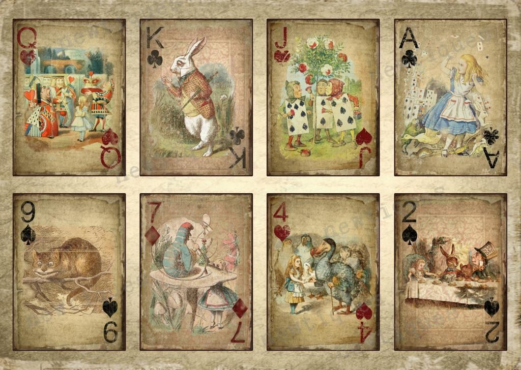 baby photo collage ideas download - alice in wonderland free printables
