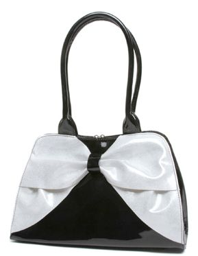 Lux de Ville Lady Lux Kiss Lock In Black and White Sparkle - Steady Clothing Inc.