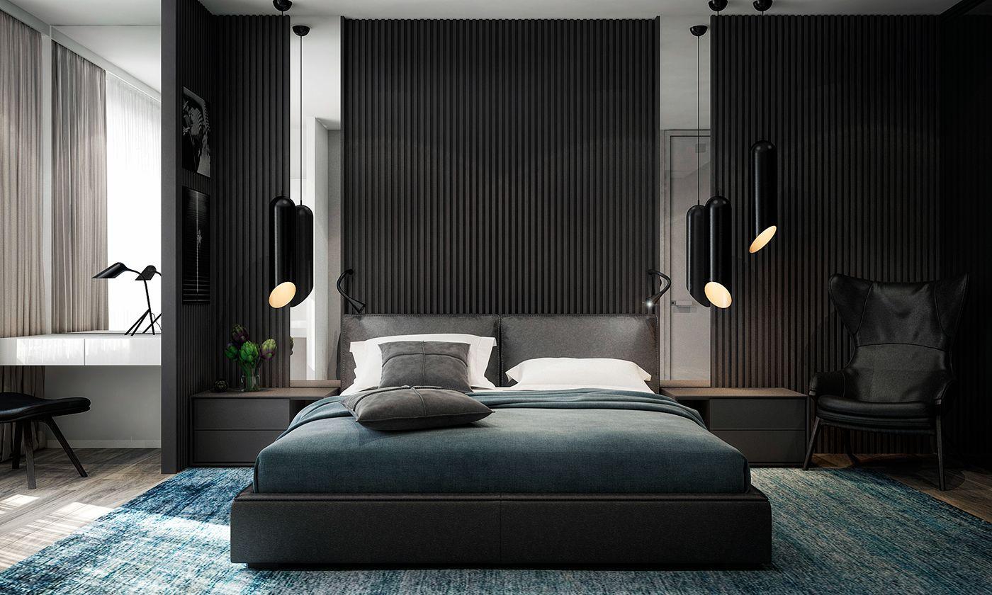 Best Apartment 45 On Behance Black Bedroom Furniture Bedroom 400 x 300