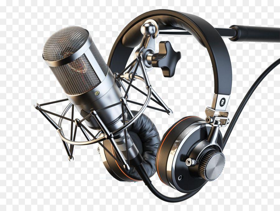 Microphone Headphone Audio Recording Studio Rekaman Suara Dan Reproduksi Mic Unlimited Download Kisspng Com Studio Rekaman Bingkai Headphone