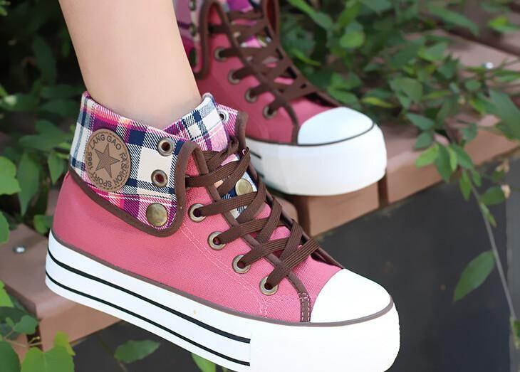 Cute students canvas shoes SE3017