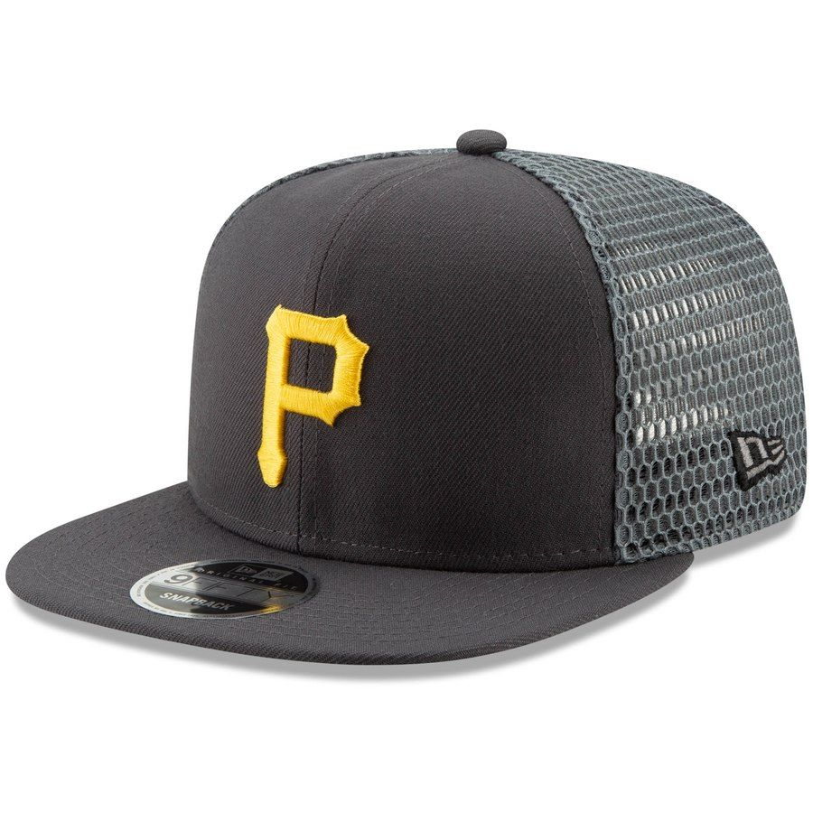 timeless design 44932 38353 Men s Pittsburgh Pirates New Era Graphite Mesh Fresh 9FIFTY Adjustable  Snapback Hat, Your Price   27.99