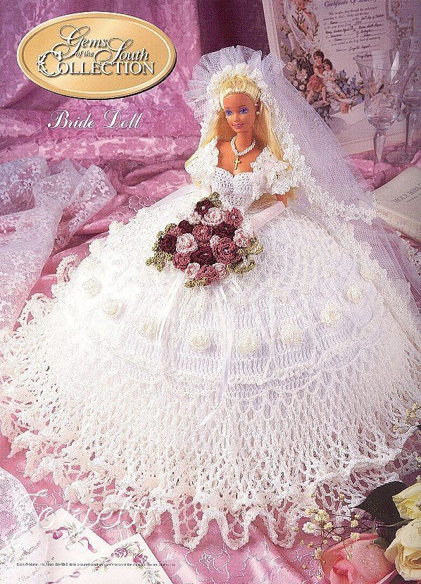 Bride Doll, Annie\'s Gems of the South Collection crochet patterns