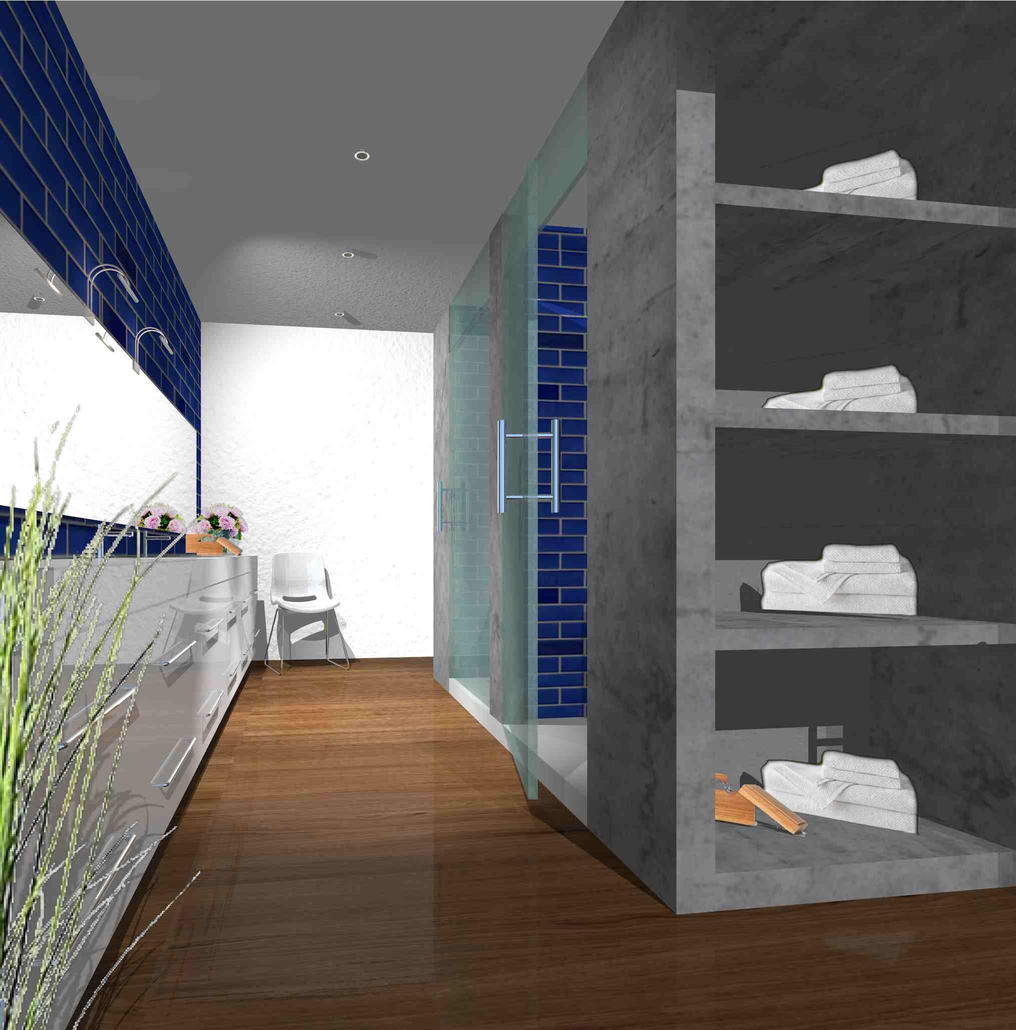 Eigen ontwerp: Droom badkamer IKEA producten | Droom huis ...