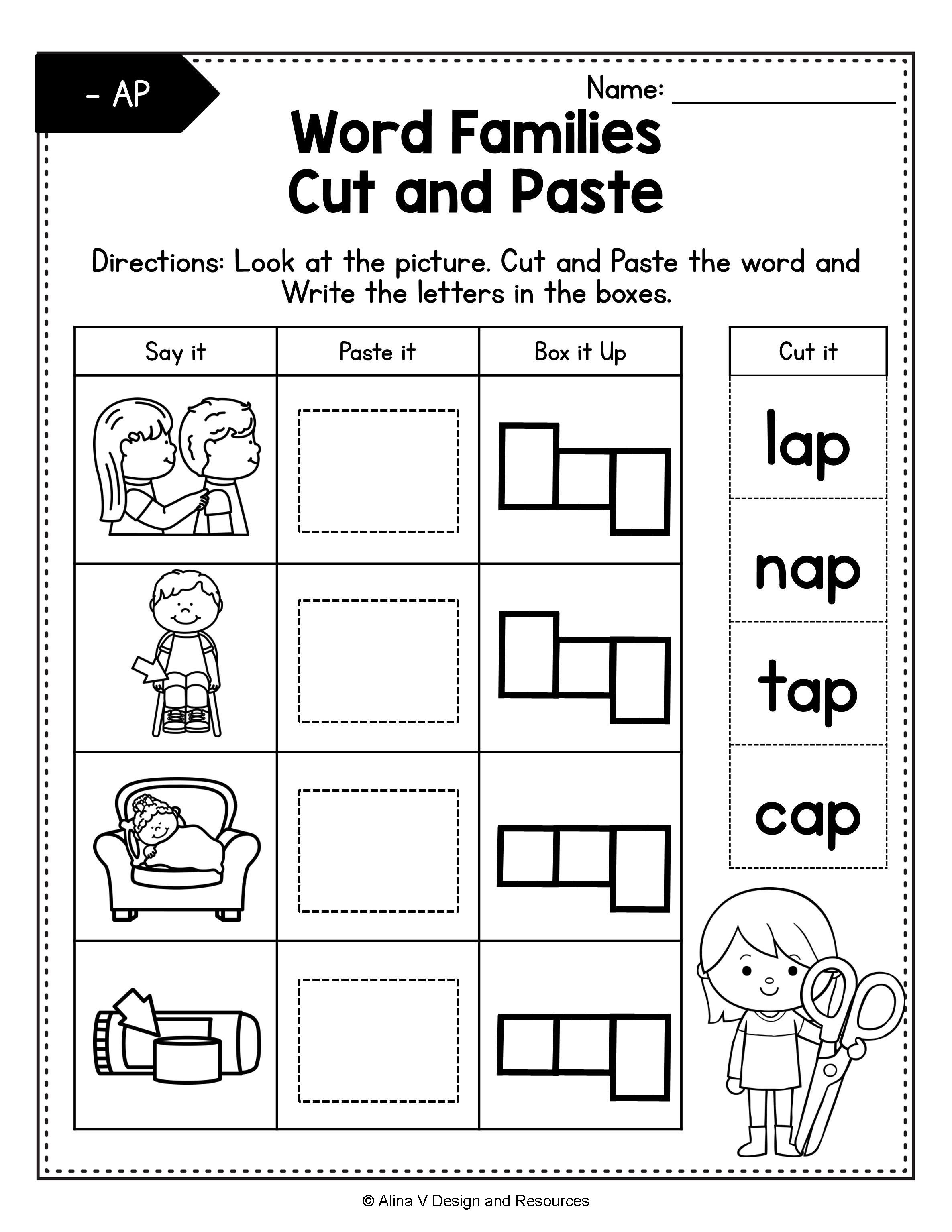 Distance Learning Cvc Words Worksheets Bundle Word Families Activities In 2020 Cvc Words Word Families Blend Cvc Words