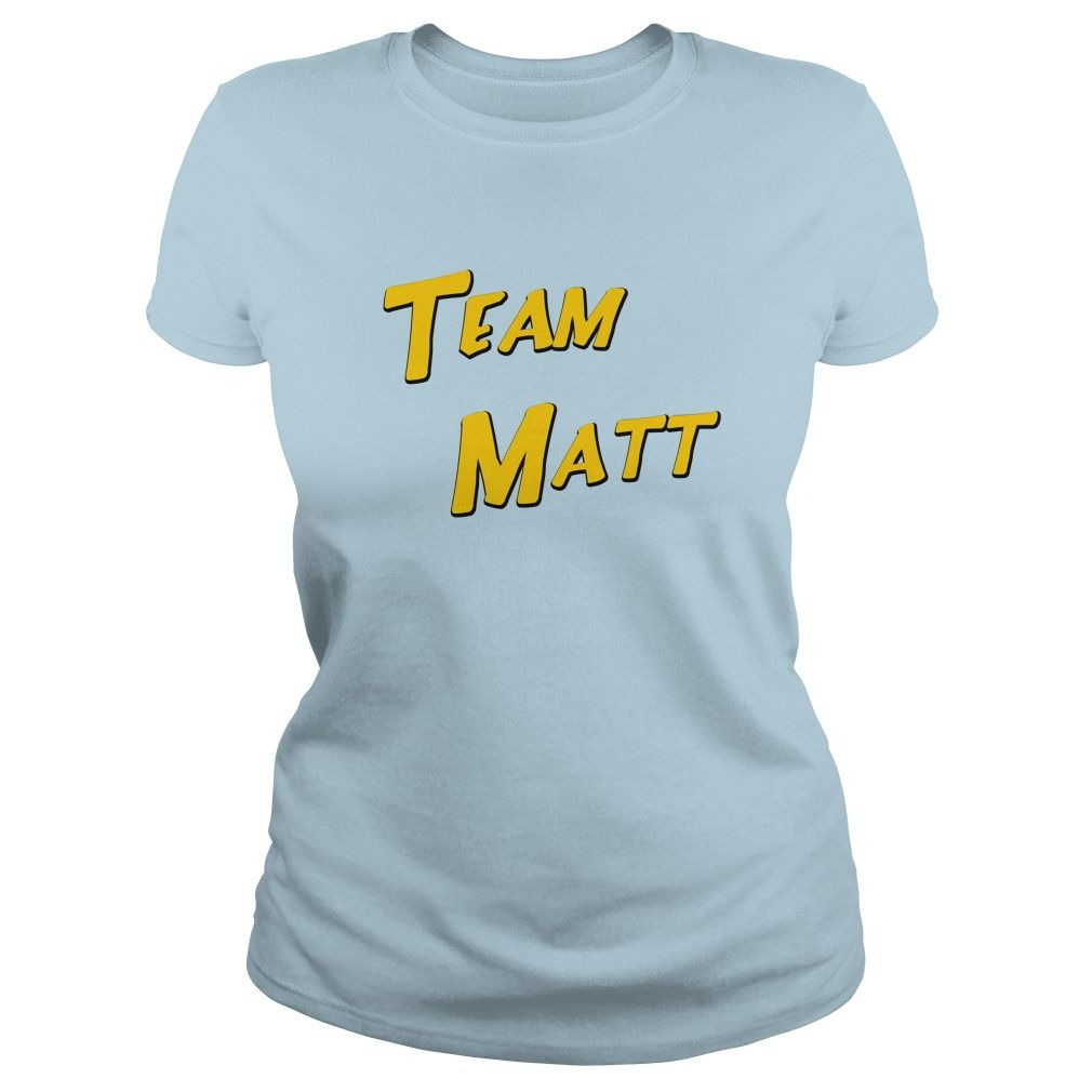Show your support for Team Matt with style