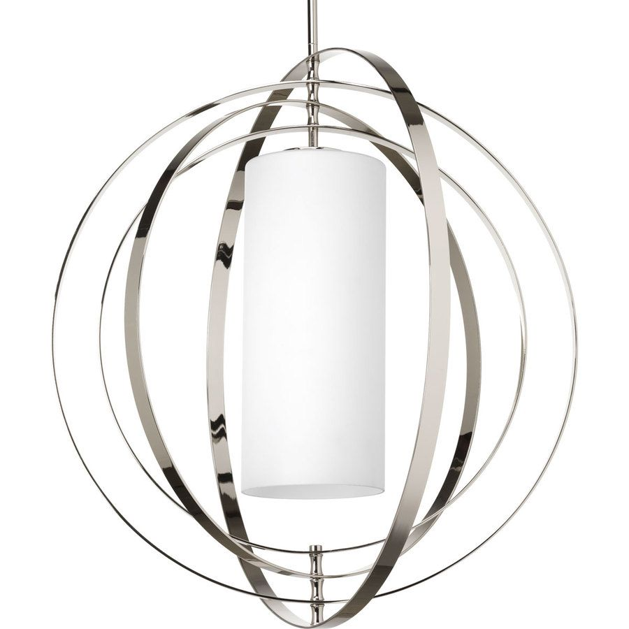 Progress lighting equinox 2775 in polished nickel single etched equinox polished nickel pendant light with frosted glass shade mozeypictures Gallery