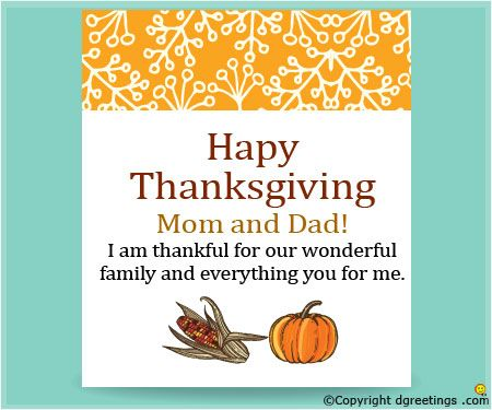 Letter Thanksgiving Family Sample Mom Thank You Free Example
