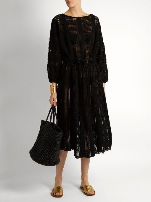 227a19fdcc3 Zimmermann Gossamer crochet-knit dress   Fashion Finds   Dresses ...