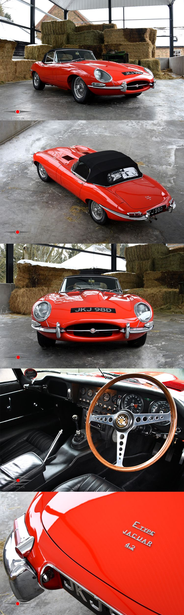 Now listed online is this 1966 Series 1 4.2 OTS E-Type for sale with ...
