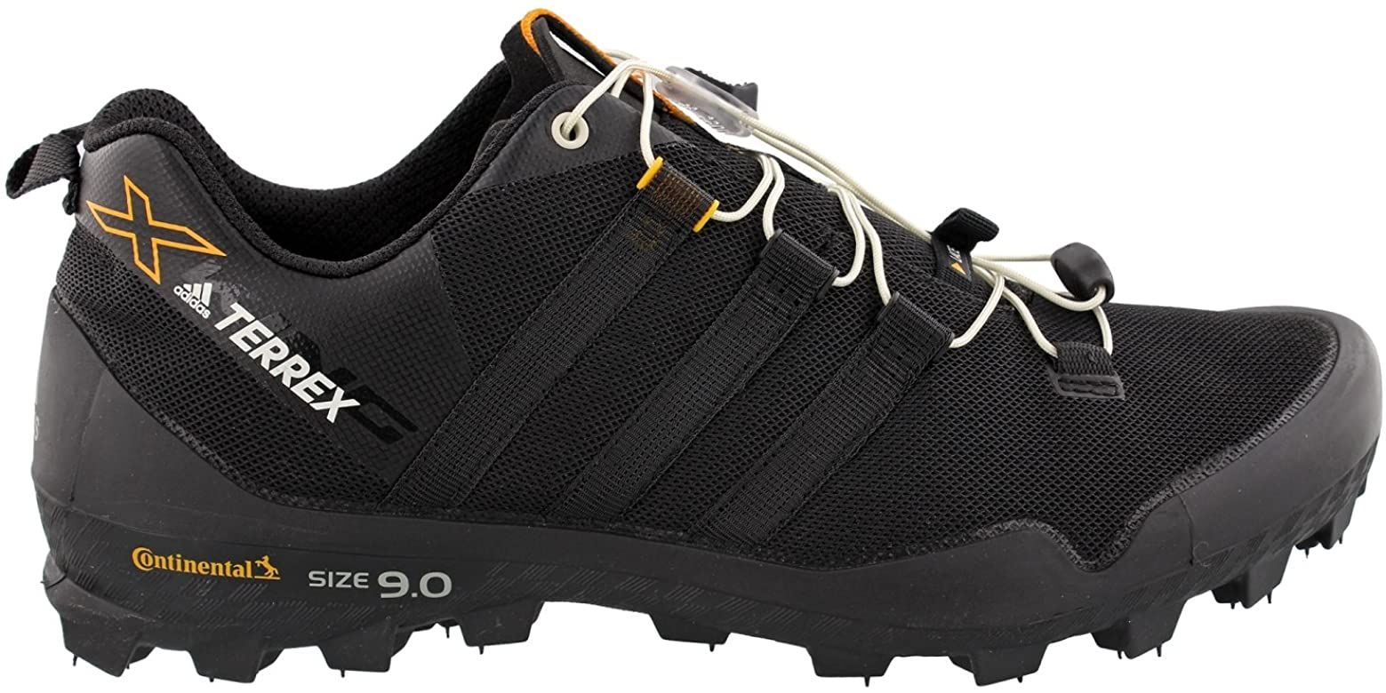 reposo inversión venganza  Amazon.com | adidas outdoor Men's Terrex X-King Black/Black/Chalk White 7 D  US | Trail Running in 2020 | Outdoor men, Disc golf shoes, King shoes