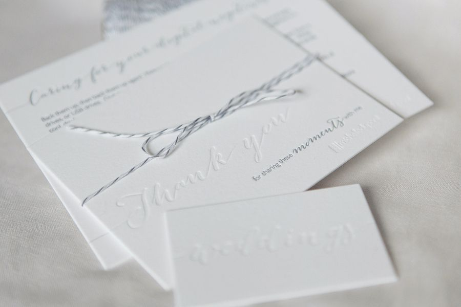 Wedding Photography Branding + Packaging | Letter Press | Michelle Dupont Photography