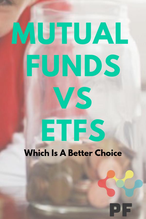 Mutual Funds Vs Etfs Mutuals Funds Finance Investing Mutual