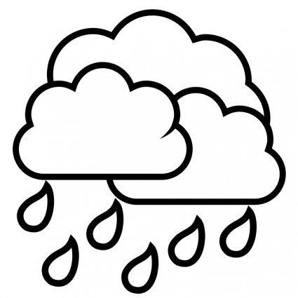 Rain Drop Template Clipart Best Con Imagenes Gotas De Lluvia
